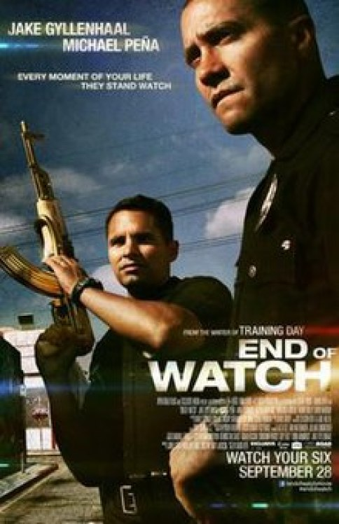 Image result for end of watch 2012