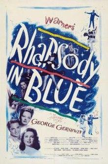 Poster of Rhapsody in Blue (film).jpg