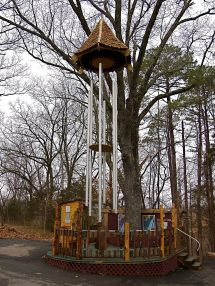 World's Largest Tuned Wind Chimes Eureka Springs Arkansas