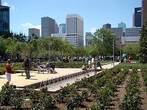 Wortham Foundation Gardens