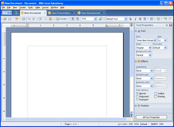 lotus symphony documents 1 0 on windows xp