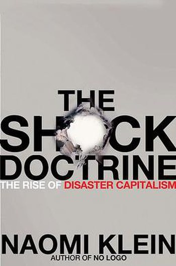 Front cover of The Shock Doctrine: The Rise of...
