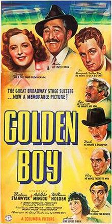 Golden Boy (film) : golden, (film), Golden, (1939, Film), Wikipedia
