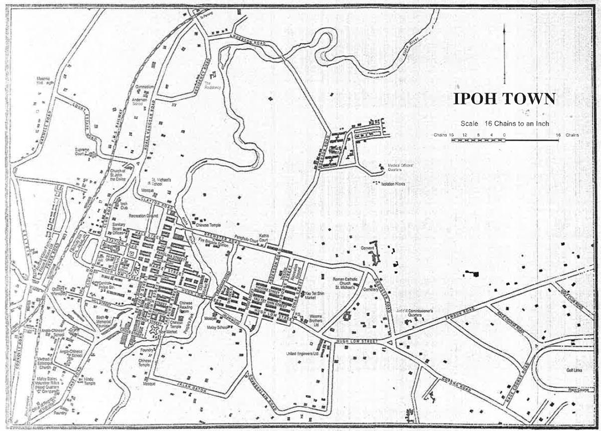 List Of Roads In Ipoh