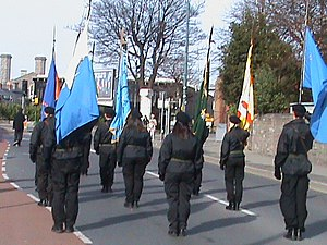 A Republican colour party in Dublin - 17 March...