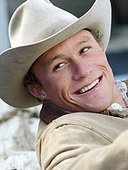 As Ennis del Mar in Brokeback Mountain