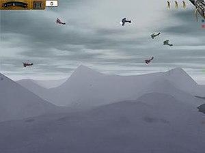 Aerial Turmoil in its literal sense as multipl...