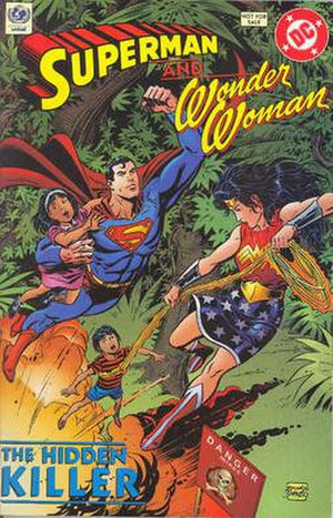 Superman and Wonder Woman - the Hidden Killer
