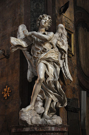 Angel - Bernini - Sant'Andrea delle Fratte