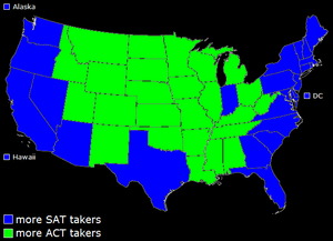 Sat-act preference
