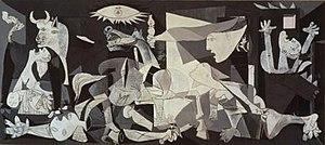 Pablo Picasso, 1937, Guernica, protest against...