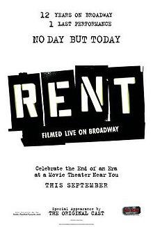 rent filmed live on broadway wikipedia