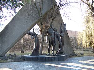 Monument to Victims of Fascism, Rivne, Ukraine