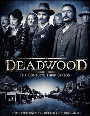 Deadwood Season 3 DVD cover