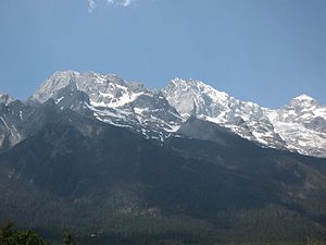 Peak of the Jade Dragon Snow Mountain