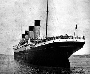 Titanic stern