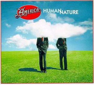 Cover art from America's 1998 album, Human Nature