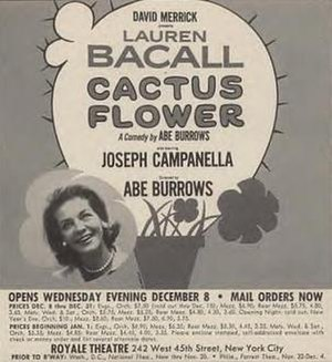 Rare Broadway poster including the name of Jos...