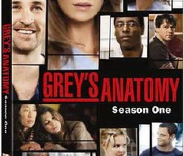 Greys Anatomy Season One Dvd Cover Jpg