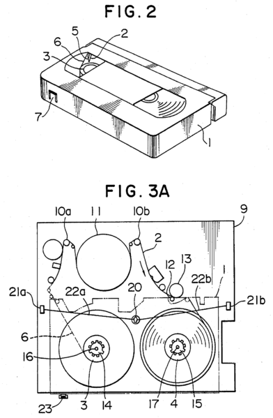 File:Magnetic video tape recorder diagram Us004809115-003