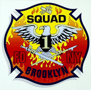FDNY Squad 1 Patch