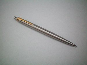 English: Gold and Silver Parker Jotter Pencil