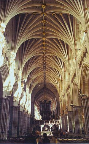 The longest uninterrupted vaulted ceiling in E...
