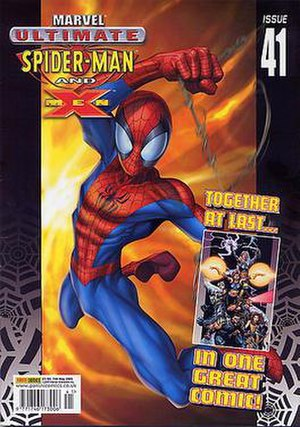 Ultimate Spider-Man and X-Men #41, from Panini...