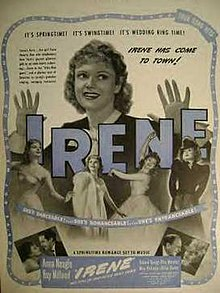Irene 1940 film  Wikipedia