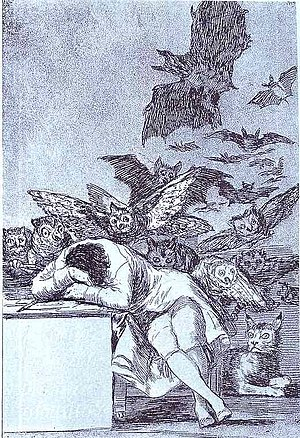 "Francisco de Goya, ""The Sleep of Reason P..."