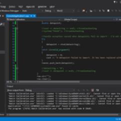 Database Diagram Visual Studio 2013 High Pressure Sodium Ballast Wiring Microsoft Wikipedia Screenshot Of Editing The Source Code A C Program