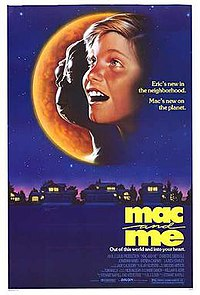 poster Mac and me