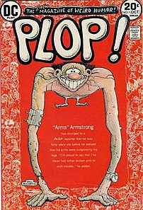 Plop! #1 with cover art by Basil Wolverton.
