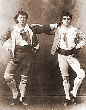 Rutland Barrington and Courtice Pounds as Gius...