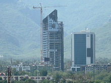 View of Islamabad City.