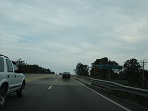 South Carolina Highway 544 going over the Intr...