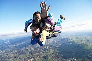 Tandem skydive yarra valley