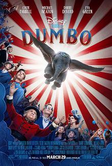 Hasil gambar untuk dumbo 2019 poster