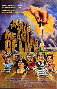 Poster for Monty Python's The Meaning of Life