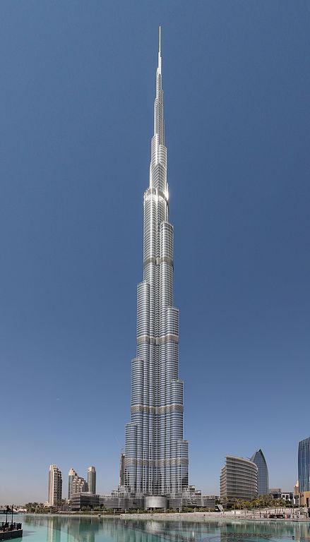 Burj Khalifa, the world's tallest building, is located in Dubai, UAE