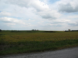 An rural area west of Route 41 and Lowell, Ind...
