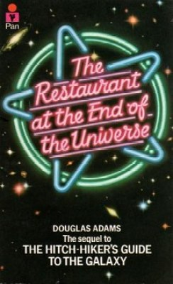 Image result for restaurant at the end of the universe