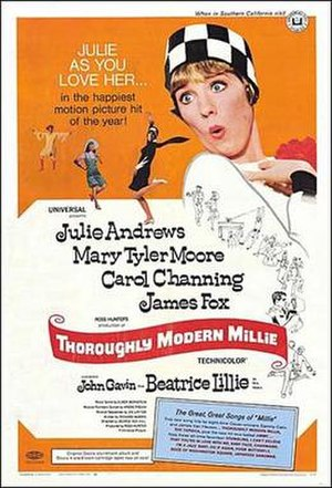 Poster for the film Thoroughly Modern Millie
