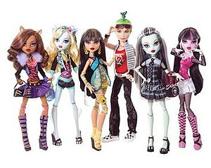 Monster High dolls from 2010