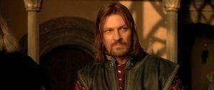 Sean Bean as Boromir in Peter Jackson's live-a...