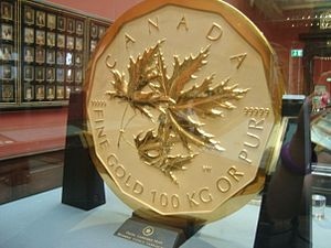 Front image of million dollar royal canadian m...