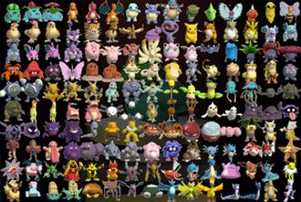 list of pokémon wikipedia