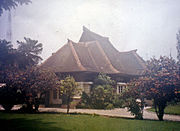 This pre-war Bandung home is an example of 20th century Indonesian Dutch Colonial styles