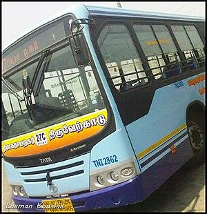 MTC's Tata Marcopolo Bus