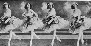 Fille Mal Gardee -Anna Pavlova as Lise with Co...